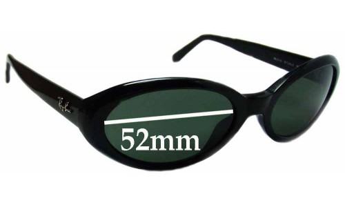 Sunglass Fix Sunglass Replacement Lenses for Ray Ban RB2110 Rituals - 52mm Wide
