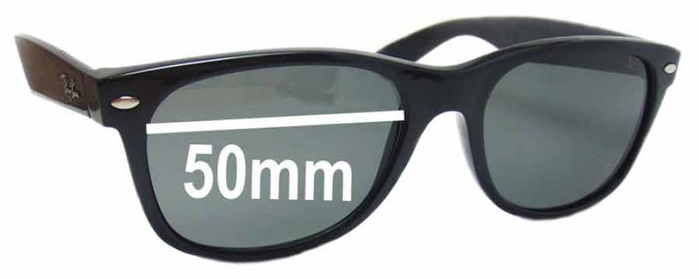 6c53b649d3a Sunglass Fix Sunglass Replacement Lenses for Ray Ban RB2132 New Wayfarer  50mm wide x 37 high