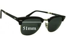 Sunglass Fix Sunglass Replacement Lenses for Ray Ban Wayfarer RB2176 - 51mm Wide