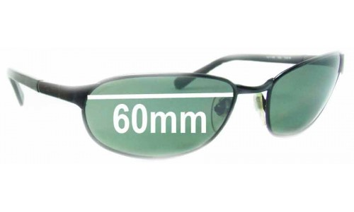 Sunglass Fix Sunglass Replacement Lenses for Ray Ban RB3146 Sport Metal Square - 60mm Wide