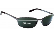 Sunglass Fix Sunglass Replacement Lenses for Ray Ban RB3175 Flight - 60mm Wide