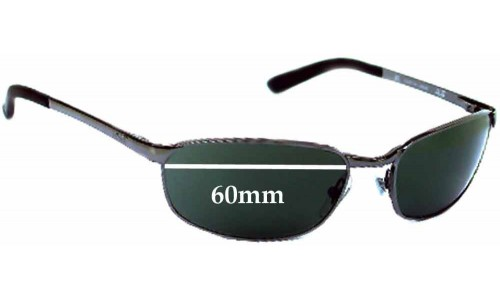 Sunglass Fix Sunglass Replacement Lenses for Ray Ban RB3175 Flight - 60mm Wide Lens