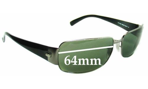 Sunglass Fix Sunglass Replacement Lenses for Ray Ban RB3332 - 64mm Wide