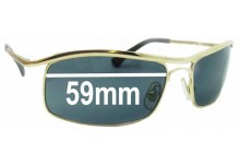 Sunglass Fix Sunglass Replacement Lenses for Ray Ban RB3339 - 59mm Wide