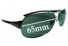 Sunglass Fix Sunglass Replacement Lenses for Ray Ban RB3404 - 65mm Wide