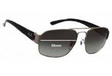 Sunglass Fix Sunglass Replacement Lenses for Ray Ban RB3427 - 58mm Wide