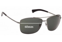 Sunglass Fix Sunglass Replacement Lenses for Ray Ban RB3476 - 60mm Wide