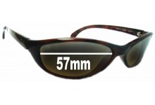 Sunglass Fix Sunglass Replacement Lenses for Ray Ban RB4014 Raider - 57mm Wide
