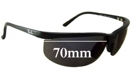 Sunglass Fix Sunglass Replacement Lenses for Ray Ban RB4021 - 70mm Wide