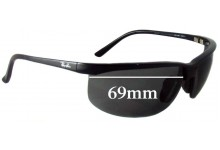 Sunglass Fix Sunglass Replacement Lenses for Ray Ban RB4021 Sport Nylor - 69mm Wide