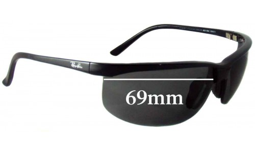 Sunglass Fix Sunglass Replacement Lenses for Ray Ban RB4021 Sport Nylor - 69mm across