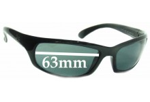 Sunglass Fix Sunglass Replacement Lenses for Ray Ban RB4026 Shot Square - 63mm Wide