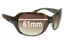 Sunglass Fix Sunglass Replacement Lenses for Ray Ban RB4118 - 61mm Wide