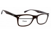 Sunglass Fix Sunglass Replacement Lenses for Ray Ban RB5228 - 53mm Wide