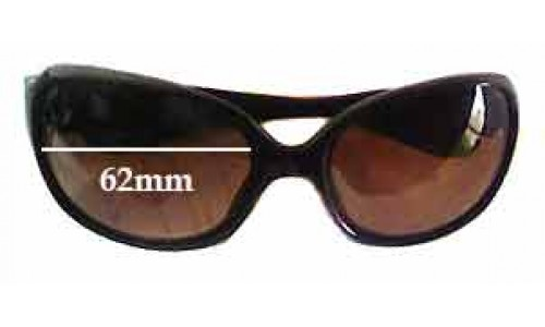 Sunglass Fix Sunglass Replacement Lenses for Ray Ban - RB9022 - 62mm Wide
