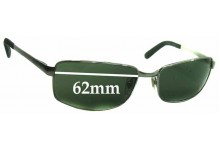 Sunglass Fix Sunglass Replacement Lenses for Ray Ban RB3194 - 62mm Wide