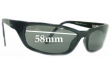 Sunglass Fix Sunglass Replacement Lenses for Ray Ban RB4034 - 58mm Wide