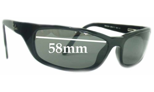 Sunglass Fix Sunglass Replacement Lenses for Ray Ban RB4034 - 58mm across