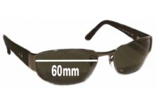 Sunglass Fix Sunglass Replacement Lenses for Ray Ban RB3141 Undercurrent Leather II - 60mm Wide