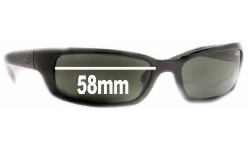 Sunglass Fix Sunglass Replacement Lenses for Ray Ban RB4037 Shot Extreme - 58mm wide