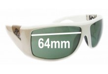 Sunglass Fix Sunglass Replacement Lenses for Rip Curl Phantoms - 64mm Wide