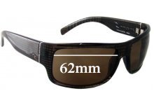 Sunglass Fix Sunglass Replacement Lenses for Rip Curl Raglan - 62mm Wide  x 41mm Tall