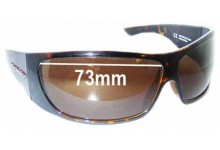 Sunglass Fix Sunglass Replacement Lenses for Rudy Project KAOS - 73mm Wide