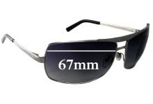 Sunglass Fix Sunglass Replacement Lenses for Salvatore Ferragamo 1134 - 67mm Wide