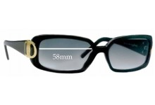 Sunglass Fix Sunglass Replacement Lenses for Salvatore Ferragamo 2065 - 58mm Wide