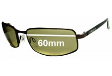Sunglass Fix Sunglass Replacement Lenses for Serengeti Carini - 60mm Wide