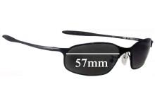 Sunglass Fix Sunglass Replacement Lenses for Serengeti Vedi - 57mm Wide