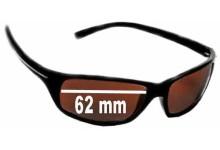 Sunglass Fix Sunglass Replacement Lenses for Serengeti Pisa - 62mm Wide