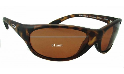 Sunglass Fix Sunglass Replacement Lenses for Smith Guides Choice - 61mm Wide