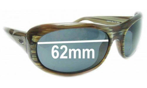Sunglass Fix Sunglass Replacement Lenses for Smith Lovejoy Mica - 62mm Wide