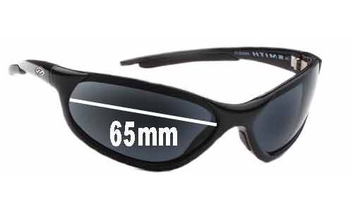 Sunglass Fix Sunglass Replacement Lenses for Smith Mainline - 65mm Wide