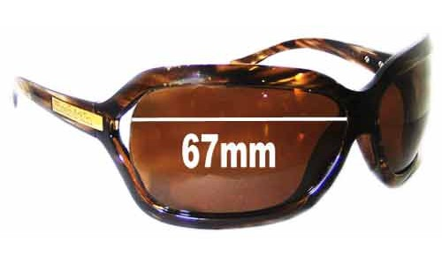 Sunglass Fix Sunglass Replacement Lenses for Smith Melrose - 67mm Wide