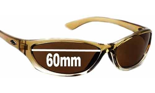 Sunglass Fix Sunglass Replacement Lenses for Smith Rootbeer - 60mm Wide