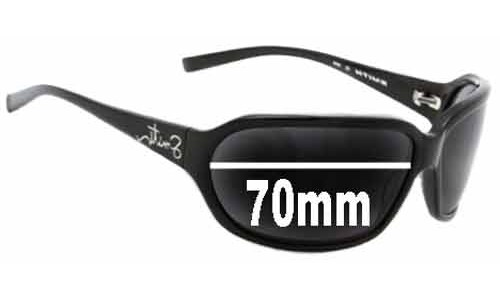 Sunglass Fix Sunglass Replacement Lenses for Smith Talent - 70mm Wide