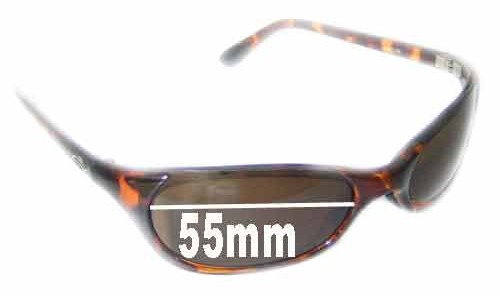 Sunglass Fix Sunglass Replacement Lenses for Smith Toaster - 55mm Wide