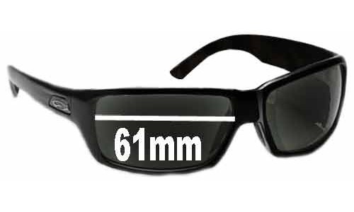 Sunglass Fix Sunglass Replacement Lenses for Smith Touchstone - 61mm Wide