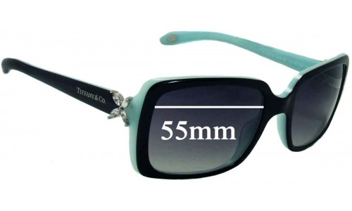 Sunglass Fix Sunglass Replacement Lenses for Tiffany & Co TF 4047-B - 55mm Wide