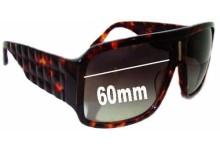 Sunglass Fix Sunglass Replacement Lenses for Tsubi Padgett - 60mm Wide