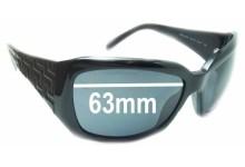 a84bc0f155b Sunglass Fix Sunglass Replacement Lenses for Versace MOD 4049 - 63mm Wide