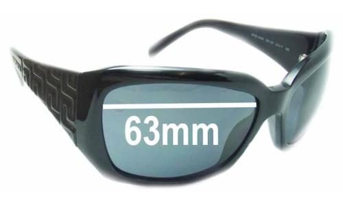 Sunglass Fix Sunglass Replacement Lenses for Versace MOD 4049 - 63mm Wide