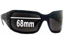 Sunglass Fix Sunglass Replacement Lenses for Vogue VO2369-S - 68mm Wide