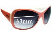 Sunglass Fix Sunglass Replacement Lenses for Vogue VO2375-SB - 63mm Wide