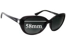 Sunglass Fix Sunglass Replacement Lenses for Vogue VO2771-SH - 58mm Wide