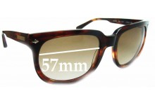 Sunglass Fix Sunglass Replacement Lenses for Wayne Cooper Pipi WC978 - 57mm Wide