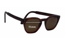 Sunglass Fix Sunglass Replacement Lenses for Ahlem Eyewear Montorgueil - 51mm Wide