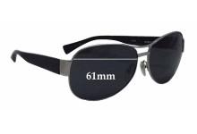 Sunglass Fix Sunglass Replacement Lenses for Alain Mikli A0861 - 61mm Wide